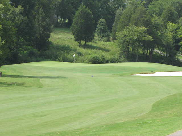 A view of a green at Ruggles Ferry Golf Club