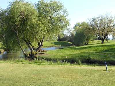 A view over the water from Colusa Golf & Country Club
