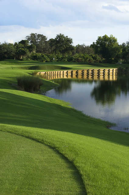 A view of the 3th hole at Grand Cypress Resort - South Course