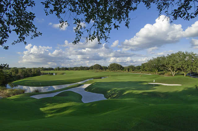A view of the hole #2 at Grand Cypress Resort - South Course