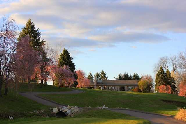 A view from Grassmere Country Club