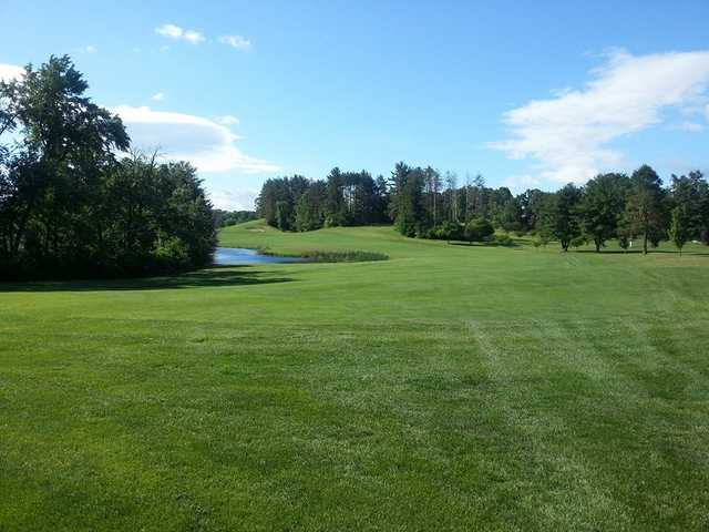 A view of a fairway at Chicopee Country Club