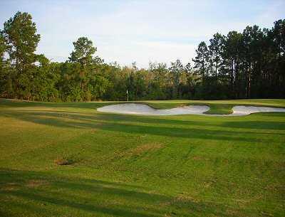 A view from fairway #9 at Hidden Cypress Golf Club