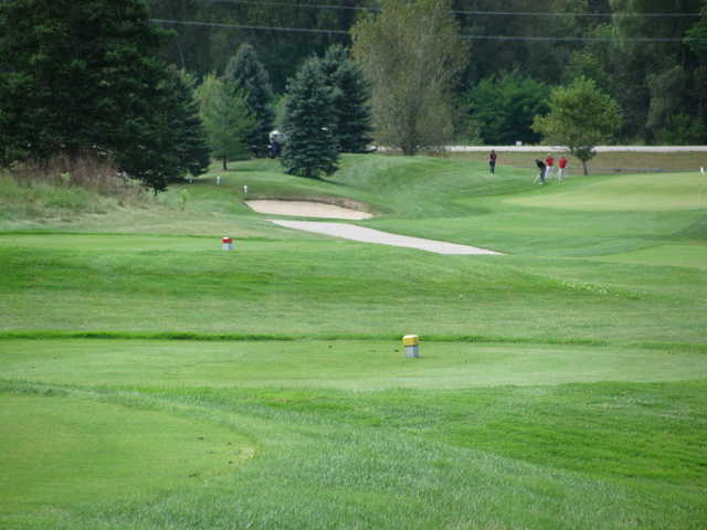 A view from tee #15 at Boulder Creek Golf Club