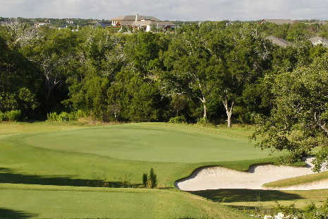 A view of a green at Cowan Creek Golf Course