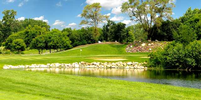 A view from Water's Edge Golf Club.