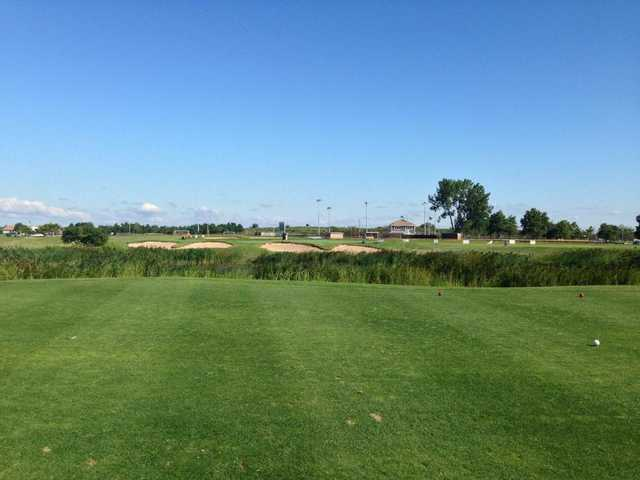 A view from tee #3 at Short Beach Golf Course