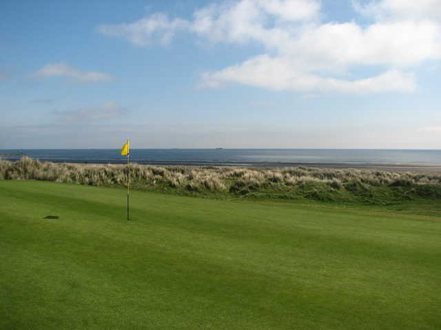 A view of the 11th green at Laytown and Bettystown Golf Club