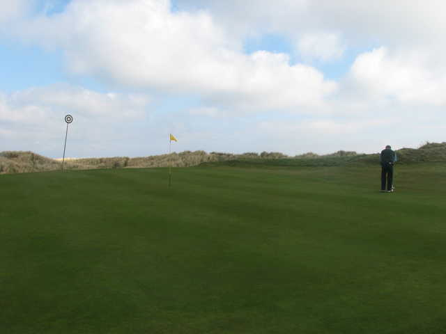A view of the 5th green at Laytown and Bettystown Golf Club