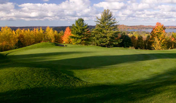 An autumn view from The Legend at Shanty Creek