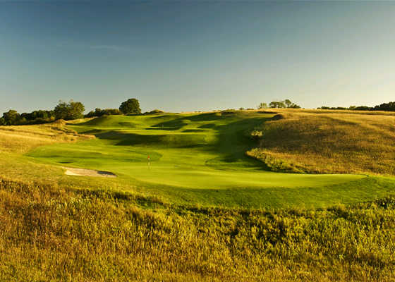 A sunny view from Dunmaglas Golf Course