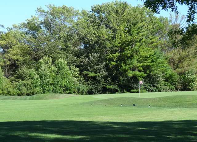 A view from Oakwood Park Golf Course