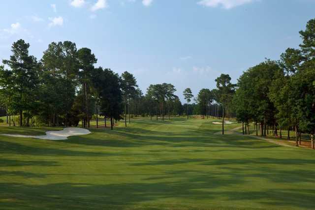 A view of a fairway at Cobblestone Park Golf Club