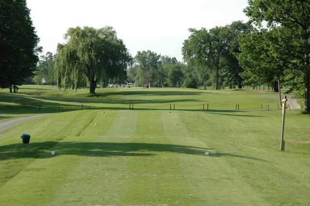 A view of hole #6 at Royal Scot Golf Course
