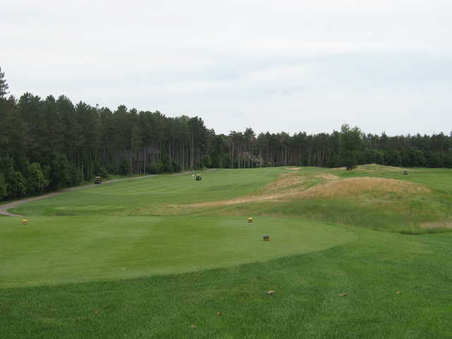 View from the 1st tee at Timber Trace Golf Club