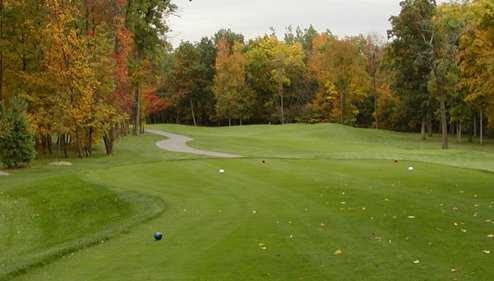 An autumn view from Cattails Golf Club