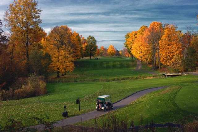 A view from Fowler's Mill Golf Course