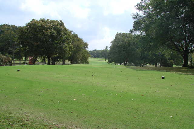 A view from tee #5 at Wright Park Golf Course
