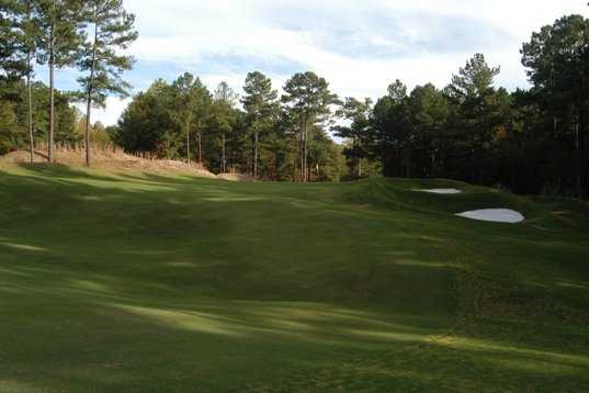 A view of the 2nd hole at Coweta Club from Arbor Springs Plantation