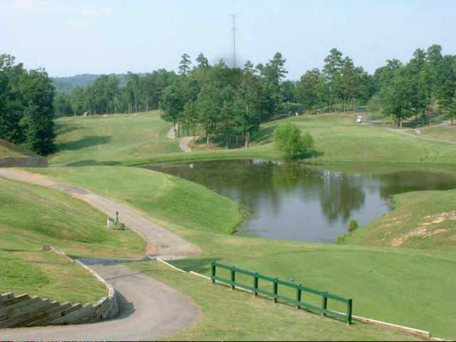 A view  from the 11th tee at Sugar Hill Golf Club
