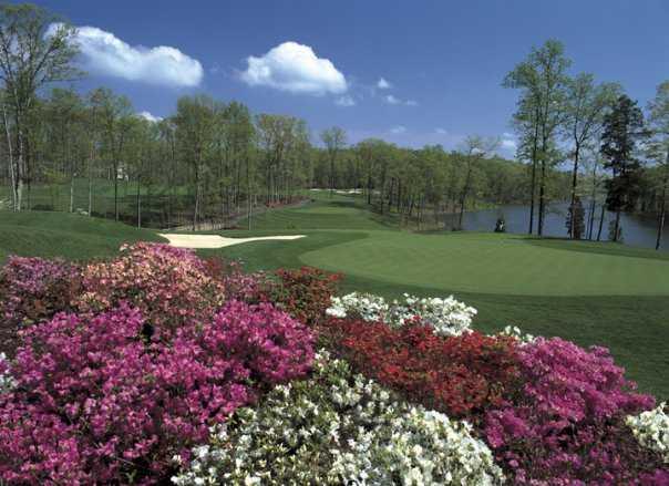 A view from Stonewall Golf Club at Lake Manassas