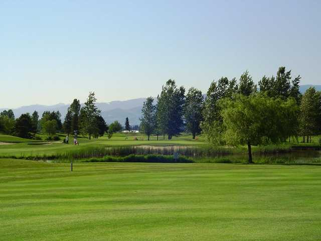 A view from Meadow Gardens Golf Course