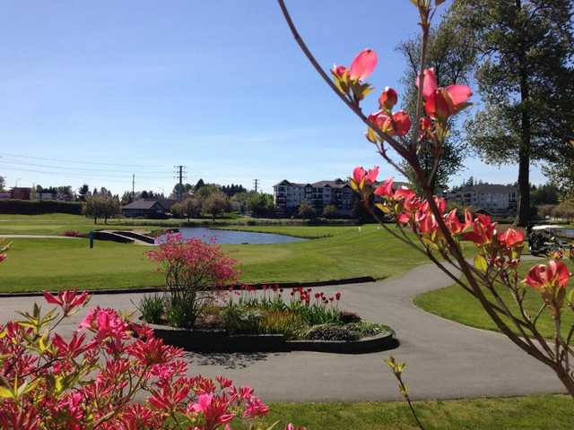 A spring view from Meadow Gardens Golf Course