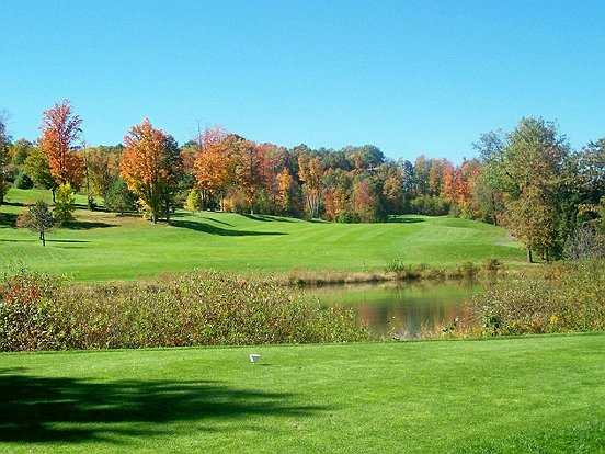 A view over the water from Bavarian Hills Golf Course
