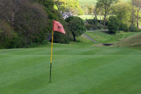 A view of a hole at Enniskillen Golf Club