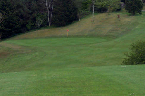 A view from Enniskillen Golf Club