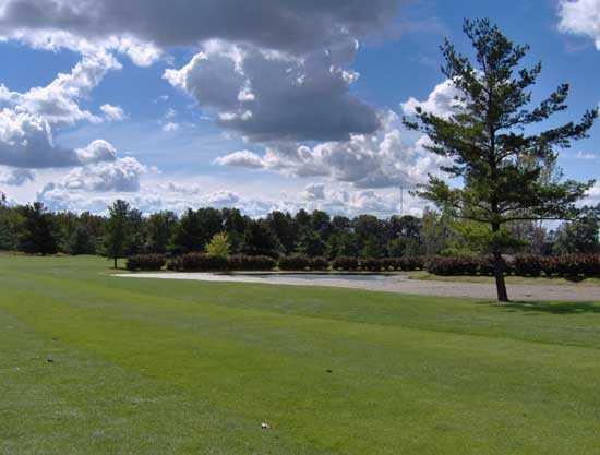 A view of a green at Wyandot Golf & Dining