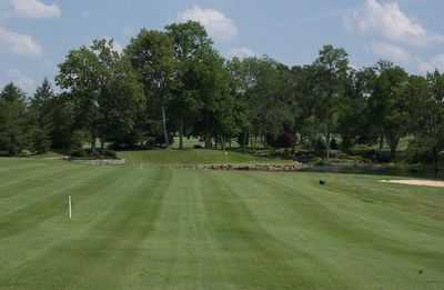 A view of the 17th hole at Bel-Wood Country Club