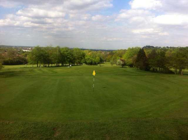 A view of a hole at Lickey Hills Golf Course