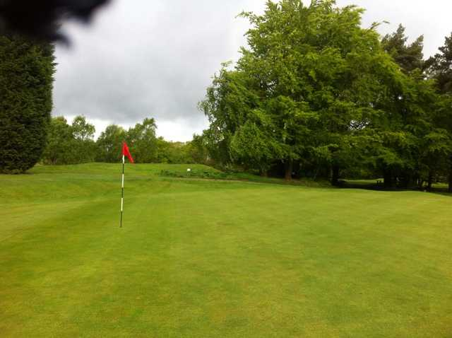 A view of a green at Lickey Hills Golf Course