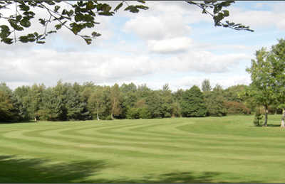 A view of a fairway at Prestwick St Cuthbert Golf Club