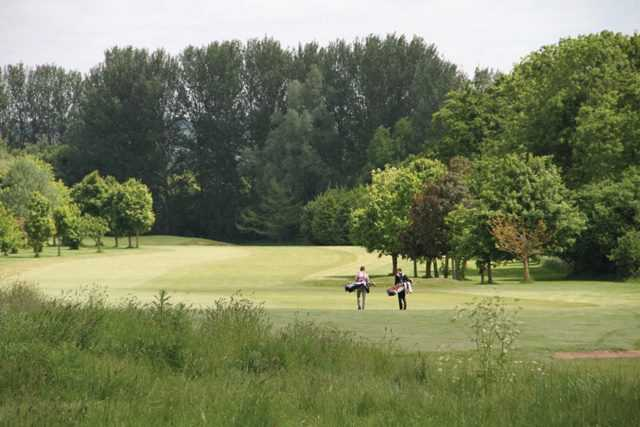 A view from Cheshunt Park Golf Centre