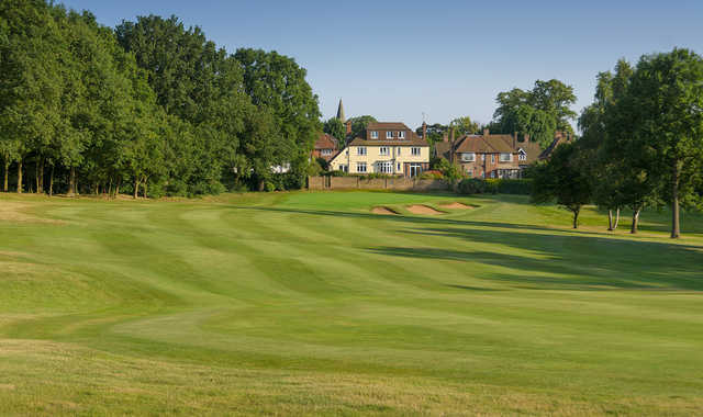 The 5th hole at Old Fold Manor