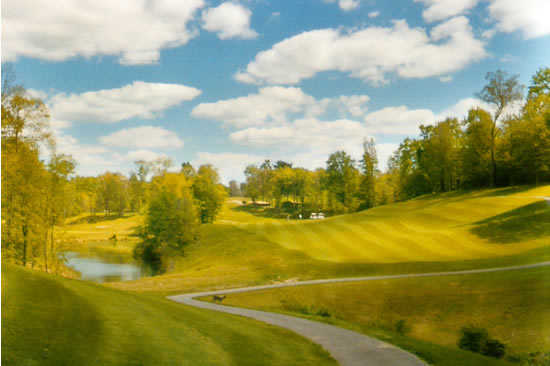 A sunny view from Pheasant Ridge Golf Club