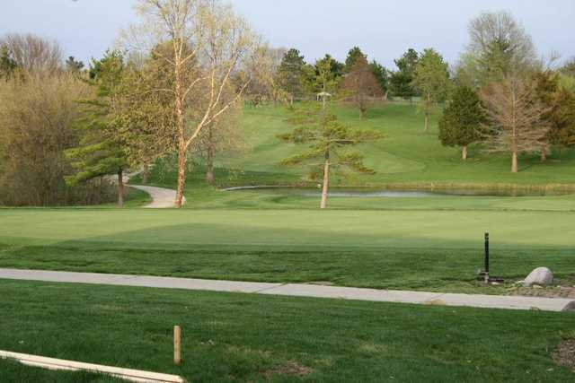 A view from Kellogg Golf Course