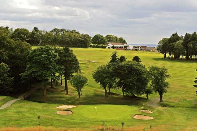 A stunning panoramic view out over Airdrie Golf Course