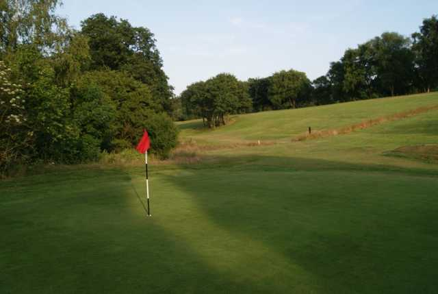 The 16th hole at Fulneck Golf Club