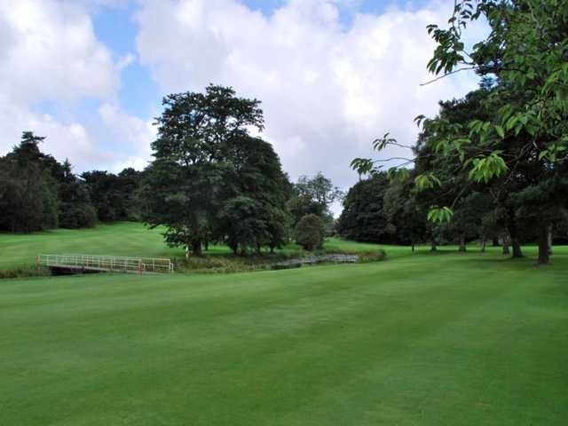 The well-manicured fairways on the Cawder Course