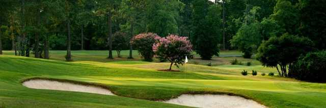 View of a green at Forest Hills Golf Club