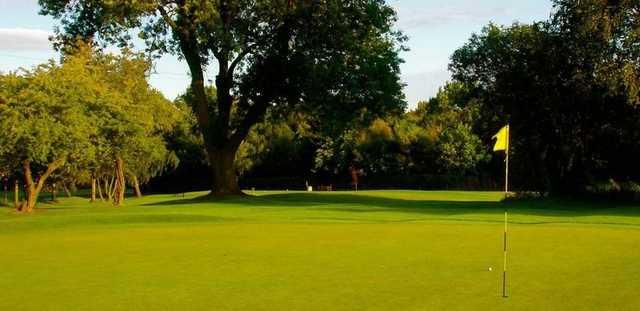 Great greens at Alfreton Golf Club