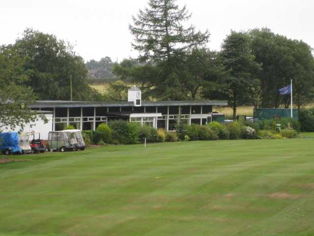 Scenic View of the clubhouse at Harwood Golf Club