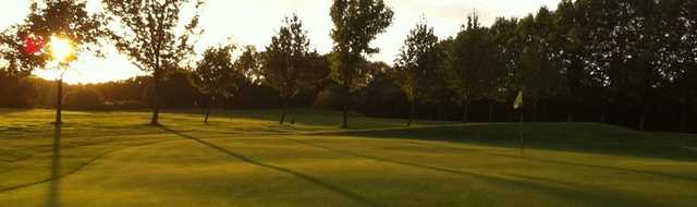Sunset at Chorlton-cum-Hardy Golf Club