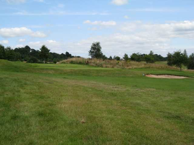 The practice area at bewdley pines golf course