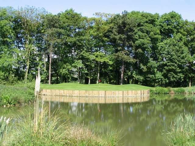 The Pond hole on the Headlam Hall Golf Course