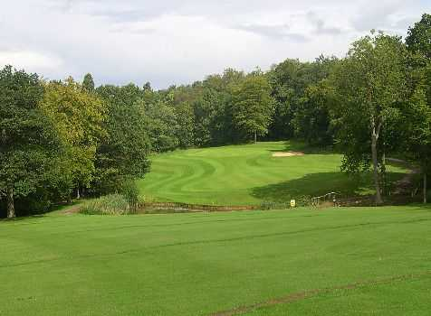 The signature 17th 'Ace of Herts' at Brickendon Grange