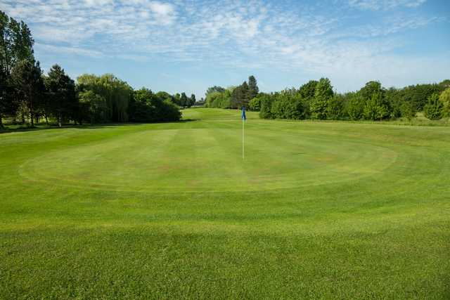 A view down to the 15th hole at Cheshunt Park Golf Centre